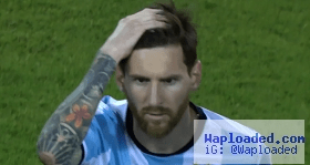 Lionel Messi says he